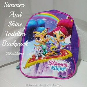 🎈4/$20🎈Simmer and Shine Toddler Backpack NWT